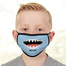 Shark Face Personalized Kids Face Mask