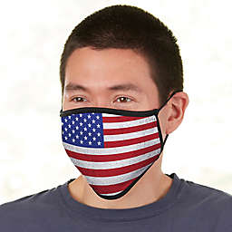 American Flag Personalized Adult Face Mask