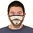 Part of the Choose Your Facial Hair Personalized Adult Face Mask