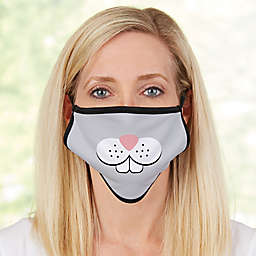 Bunny Face For Her Personalized Adult Face Mask