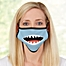 Part of the Shark Face For Her Personalized Adult Face Mask