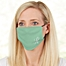 Part of the Ladies Solid Monogram Personalized Adult Deluxe Face Mask with Filter
