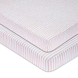 Ely's & Co.® 2-Pack Waterproof Crib Sheets