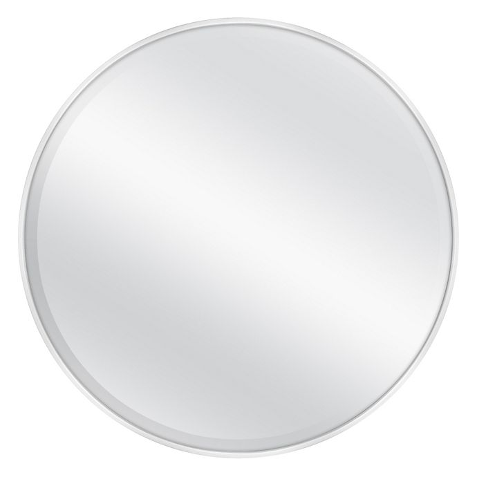 Alternate image 1 for 26-Inch Round Metal Wall Mirror