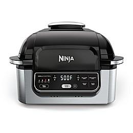 Ninja® Foodi™ 5-in-1 Indoor Grill with Air Fryer in Black/Stainless Steel