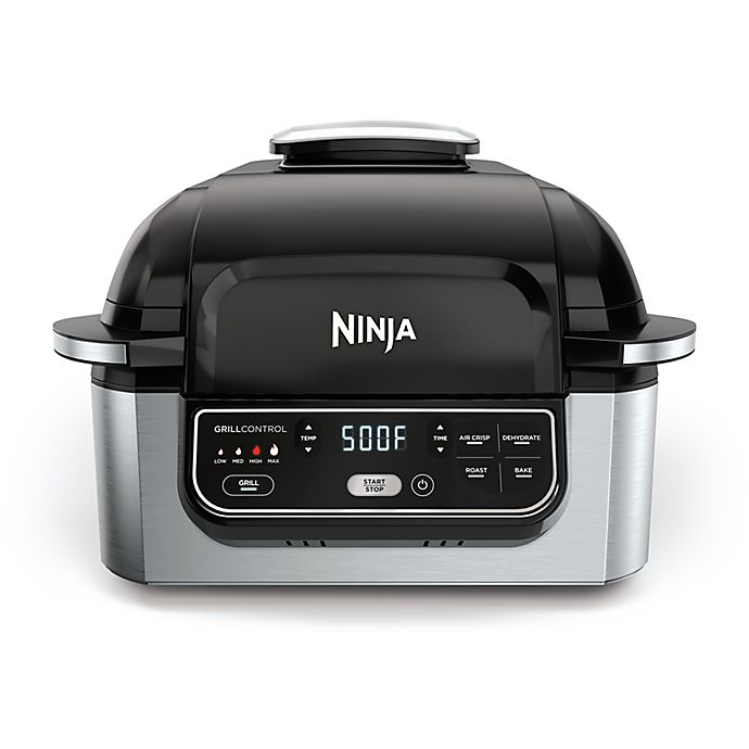 Alternate image 1 for Ninja® Foodi™ 5-in-1 Indoor Grill with 4-Quart Air Fryer
