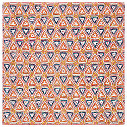Safavieh Trace Candas 6' Square Area Rug in Red