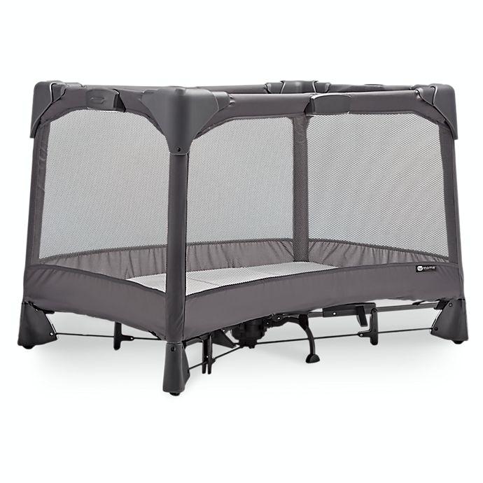 Alternate image 1 for 4moms® Breeze® GO Playard in Grey