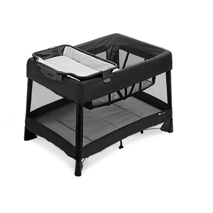 Alternate image 1 for 4moms® Breeze® Plus Playard in Black