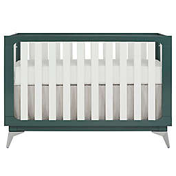 SweetPea Baby® by Evolur Ultra Modern 4-in -1 Convertible Crib in Olive