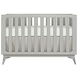 SweetPea Baby® by Evolur Ultra Modern 4-in-1 Convertible Crib in Pebble Grey