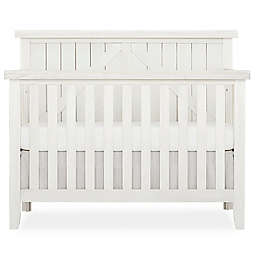 SweetPea Baby® by Evolur Rose Wood 4-in-1 Convertible Crib in Weathered White