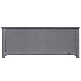 évolur Universal Low Profile Footboard in Storm Grey