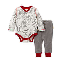 Burt's Bees Baby® Size 3M 2-Piece Star Bright Organic Cotton Bodysuit and Pant Set