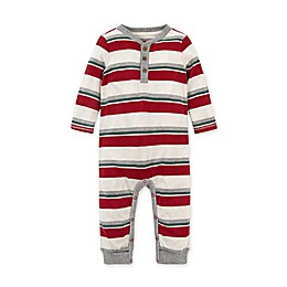 Burt's Bees Baby® Foothills Stripe Henley Organic Cotton Coverall