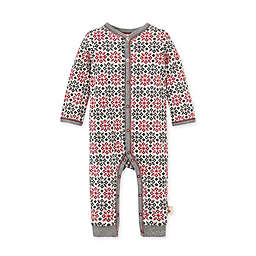 Burt's Bees Baby® Size 6M Snowflake Fair Isle Organic Cotton Coverall