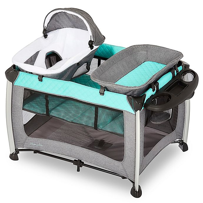 Alternate image 1 for Dream On Me Princeton Deluxe Nap 'N Pack Playard