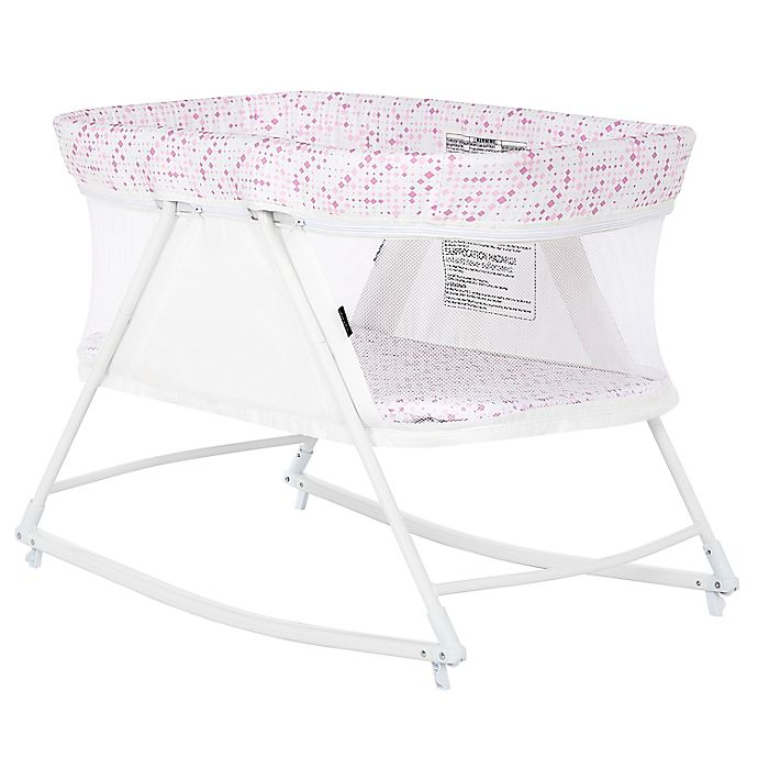 Alternate image 1 for Dream on Me Palm 3-in-1 Bassinet Playpen