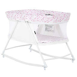 Dream on Me Palm 3-in-1 Bassinet Playpen in White