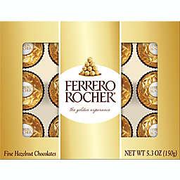 Ferrero Rocher® Fine Hazelnut Chocolates 5.3oz/12-count Golden Gift Box
