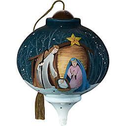 Precious Moments® Adore Him 2.36-Inch Nativity Christmas Ornament in Blue/White