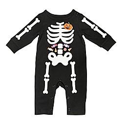 Baby Starters® Skeleton Coverall in Black