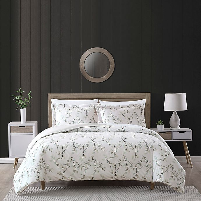 Alternate image 1 for Everly 2-Piece Reversible Twin/Twin XL Comforter Set in Blue