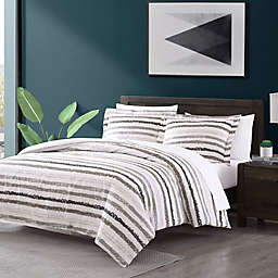 Porter 2-Piece Reversible Twin/Twin XL Comforter Set in Grey