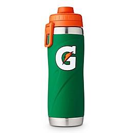 Gatorade® 26 oz. Stainless Steel Bottle in Green