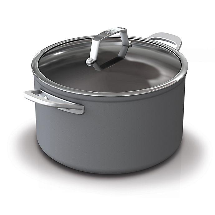 Alternate image 1 for Ninja™ Foodi™ NeverStick™ Premium Hard-Anodized Covered Stock Pot