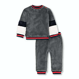 Beetle & Thread® Dude Size 12-18M 2-Piece Sherpa Top and Pant Set in Grey
