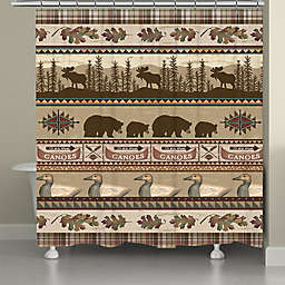 Laural Home® Lodge Look Shower Curtain