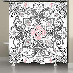 Laural Home® Royal Medallion Shower Curtain