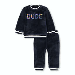Beetle & Thread® Dude 2-Piece Sherpa Top and Pant Set