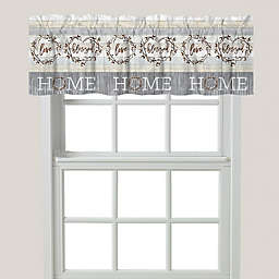 """Laural Home® """"Loving Home"""" Window Valance"""