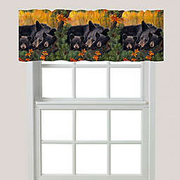 Laural Home® Warm Cozy Bears Valance
