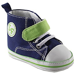 Luvable Friends® Hi-Top Crib Shoe in Blue