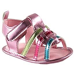 Luvable Friends® Metallic Crib Shoe Sandal