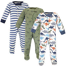 Touched by Nature® 3-Pack Organic Cotton Dinosaur Sleep 'N Plays