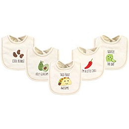 Touched by Nature® 5-Pack Taco Organic Cotton Bibs