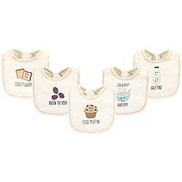 Touched by Nature® 5-Pack Muffin Organic Cotton Bibs