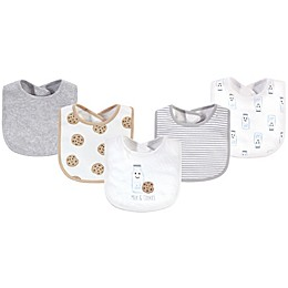 Touched by Nature® 5-Pack Cookies Organic Cotton Bibs