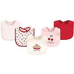 Touched by Nature® 5-Pack Cutie Organic Cotton Bibs