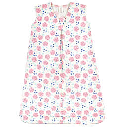 Touched by Nature® Size 6-12M Pink Rose Organic Cotton Wearable Blanket