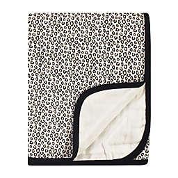 Little Treasure® Muslin Quilt Blanket in Leopard