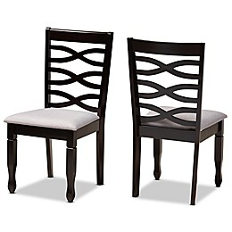 Baxton Studio Fabiola Upholstered Dining Chairs (Set of 2)