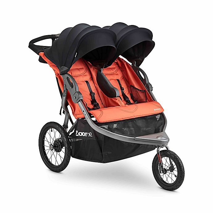 Alternate image 1 for Joovy® Zoom X2™ Double Jogging Stroller