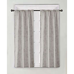Wamsutta® Vintage Floral Embroidery Rod Pocket Window Curtain Panel