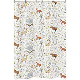 Sweet Jojo Designs® Woodland Toile Shower Curtain