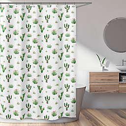 Sweet Jojo Designs Cactus Floral Shower Curtain